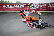 #42 (SCHIPPERS Jay) NED at Round 6 of the 2019 UCI BMX Supercross World Cup in Saint-Quentin-En-Yvelines, France