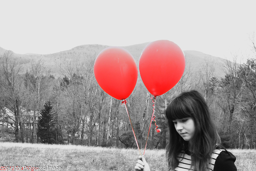 Balloons in the Mountains by Star Nigro<br /> <br /> As a photographer I love to capture the inherent beauty in all I document. <br /> <br /> This portrait series ranges from posed to spontaneous moments with clients, friends & strangers.<br /> <br /> © 2019 All artwork is the property of STAR NIGRO.  Reproduction is strictly prohibited.