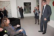 TRACEY EMIN; JAY JOPLING, - opening of the 2010 Frieze art fair. Regent's Park. London. 13 October 2010. -DO NOT ARCHIVE-© Copyright Photograph by Dafydd Jones. 248 Clapham Rd. London SW9 0PZ. Tel 0207 820 0771. www.dafjones.com.