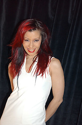 Singer SAFFRON SPRACKLING of Republica at a party for the ICM Model agency held at Embassy, Old Burlington Street, London W1 on 14th February 2005.<br />