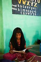 Inde, etat du Karnataka, Mysore, ecole primaire // India, Karnataka, Mysore, primary school