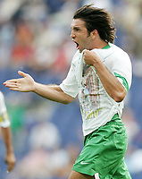 Fotball, 16. juni 2005, <br /> Conferderations Cup Japan - Mexico <br /> Jose Fonseca (Mexico) <br />  Norway only