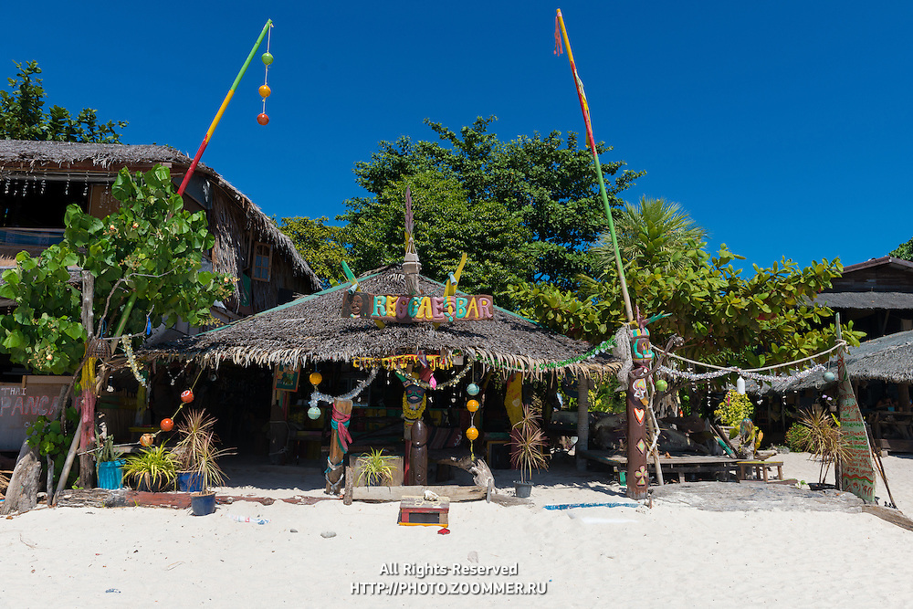 Reggae Bar On Pattaya Beach, Ko Lipe, Thailand