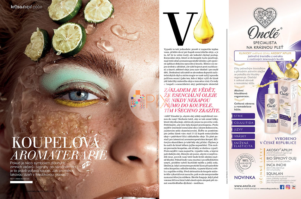 A fragrant bath is the perfect addition to a long winter evening or a busy spring day, and the December issue of Moje Psychologie in Czech tells you how to transform a simple aromatherapy bath into deep relaxation.<br />