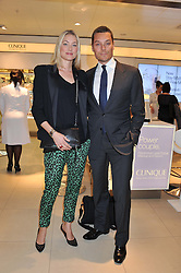 SEB & HEIDI BISHOP at the launch of the new John Lewis Beauty Hall, John Lewis, Oxford Street, London on 8th May 2012.
