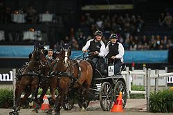 Duen, Rainer (GER), <br /> Stuttgart - German Masters 2015<br /> Fahren Weltcup<br /> www.sportfotos-lafrentz.de