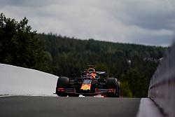September 1, 2019, Francorchamps, Belgium: MAX VERSTAPPEN of Aston Martin Red Bull Racing before the Formula 1 Belgian Grand Prix at Circuit de Spa-Francorchamps in Francorchamps, Belgium. (Credit Image: © James Gasperotti/ZUMA Wire)