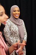 IAugust 5, 2017-New York, New York, NY-United States: Ibtihaj Muhammad attends the 2017 Black Girls Rock! Awards Show powered by BET held at the New Jersey Performing Arts Center on August 3, 2017 in Newark, New Jersey. (Photo by Terrence Jennings/terrencejennings.com)