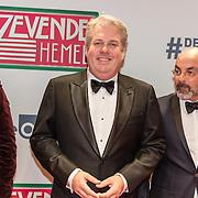 NLD/Amsterdam/20161111 - Oremière film De Zevende Hemel, Thomas Acda en Job Gosschalk