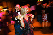 Photographing post drinks Ceilidh dance at a CIPFA event in Glasgow