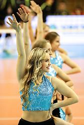 26-11-2015 SLO: Champions League Calcit Ljubljana - VakifBank Istanbul, Ljubljana<br /> Cheerleaders<br /> <br /> ***NETHERLANDS ONLY***