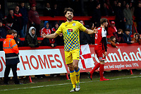 Jason Oswell. Kidderminster Harriers FC 2-2 Stockport County FC, 13.1.18. Buildbase FA Trophy