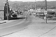 falconer-0383J-09. Hemlock St., Cannon Beach, Oregon, September 1971, looking north.