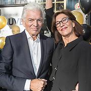 """NLD/Laren/20171113 - Boekpresentatie Ben Cramer  """"meer dan een clown"""", Ben Cramer en partner Carla van der Waal"""