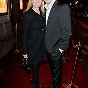 NLD/Amsterdam/20111222 - Wintercircus 2011 Carre, Alexandra Alphenaar en partner Jaap van Andel