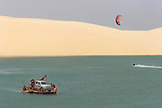 Kiteboarding adventure, Brazil