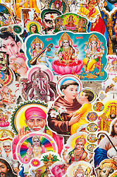 Aug. 22, 2012 - Colourful religious and spiritual postcards (Credit Image: © Image Source/ZUMAPRESS.com)