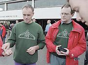 """Putney. London. GREAT BRITAIN;  left. Frans GOEBEL and John TIERNEY.<br /> <br /> 1995 Thames World Sculling Championships, Putney to Mortlake. Championship Course, River Thames.<br /> <br /> [Mandatory Credit; """"Photo, Peter Spurrier/Intersport-images]"""