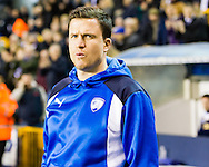 Gary Caldwell Chesterfield during the Sky Bet League 1 match at The Den, London<br /> Picture by Richard Brooks/Focus Images Ltd 07947656233<br /> 21/02/2017