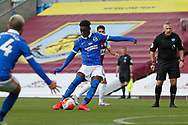 0-1, goal scored by Brighton and Hove Albion midfielder Yves Bissouma (8) during the Premier League match between Burnley and Brighton and Hove Albion at Turf Moor, Burnley, England on 26 July 2020.