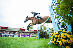 Nicholson Andrew, (NZL), Nereo<br /> Jumping<br /> Mitsubishi Motors Badminton Horse Trials - Badminton 2015<br /> © Hippo Foto - Jon Stroud