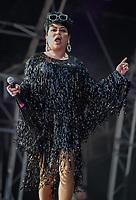 Baga Chipz performing live on stage during Birmingham Pride Birmingham West Midlands  United Kingdom 2021 photos by Chris Wayne