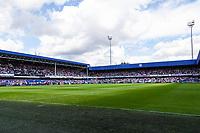Football - 2021/2022  Sky Bet EFL Championship - Queens Park Rangers vs Millwall - Kiyan Prince Foundation Stadium - Saturday 7th August 2021.<br /> <br /> Football welcomes fans back as the Kiyan Prince Foundation stadium fills <br /> <br /> COLORSPORT/DANIEL BEARHAM