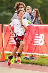 youth Mile, Caleb Gartner, winner