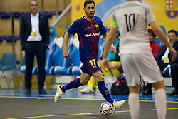 November 22, 2017 - Pescara, PE, Italy - Rafael Lpez Expsito of FC Barcelona in action during the Elite Round of UEFA Futsal Cup 17/18 match between FC Barcelona and ZVV 'T Knoppount at Giovanni Paolo II arena on November 22, 2017 in Pescara, Italy. (Credit Image: © Danilo Di Giovanni/NurPhoto via ZUMA Press)