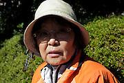 portrait of senior Japanese woman