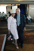 April 7, 2012 New York, NY: (L-R) Photographer Margo Jordan and Tuskeegee Airman Dr. Roscoe Brown attends the 62nd Annual Women of Distinction Spirit Awards Luncheon & Fashion Show sponsored by The Links, Inc- Greater New York Chapter held at Pier Sixty at Chelsea Piers on April 7, 2012 in New York City...EEstablished in 1946, The Links,  incorporated, is one of the nation's oldest and largest volunteer service of women, linked in friendship, are committed to enriching, sustaining and ensuring the culture and economic survival of African-American and persons of African descent . The Links Incorporated is a not-for-profit organization, which consists of nearly 12, 000 professional women of color in 272 located in 42 states, the District of Columbia and the Bahamas. (Photo by Terrence Jennings)