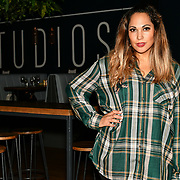 HunnyB performances at BBC Club at W12 Studios Lunch party on 14 March 2019, London, UK.