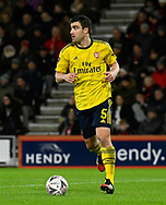 Sokratis Papastathopoulos (5) of Arsenal during the The FA Cup match between Bournemouth and Arsenal at the Vitality Stadium, Bournemouth, England on 27 January 2020.