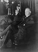 Herbert Hoover, full-length portrait, seated on sofa, facing left 1929-30. Herbert Clark Hoover (August 10, 1874 – October 20, 1964) was the 31st President of the United States (1929–1933).
