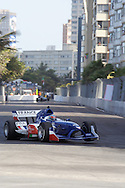 DURBAN - 24 February 2007 - Loic Duval of Team France takes the corner at the Blue Waters Hotel during the qualifying rounds in which he set the second fastest time at the A1 rand Prix. Picture: Allied Picture Press/APP