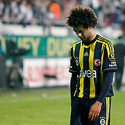 Fenerbahce's Cristian Oliveira Baroni during their Turkish Superleague SuperFinal Derby match Besiktas between Fenerbahce at the Inonu Stadium at Dolmabahce in Istanbul Turkey on Thursday, 03 May 2012. Photo by TURKPIX