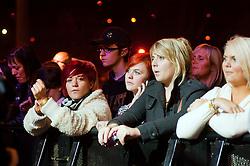 Meadowhall Sheffield Christmas Lights Concert Tinchy Stryder - Vanquish - Sam Clark (Ringo from Neighbours) - Girls Next Door - Encore - Six D - Cover Drive -Ronan Parke - Xfactor 2010 Winner Matt Cardle.3 November 2011. Image © Paul David Drabble