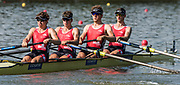 Plovdiv BULGARIA. 2017 FISA. Rowing World U23 Championships. <br /> SUI BM4-. Bow. BAERLOCHER, Scott, HIRSCH, Benjamin, KAMBER, Nicolas and MEYER, Joshua<br /> Wednesday. PM,  Heats 17:22:27  Wednesday  19.07.17   <br /> <br /> [Mandatory Credit. Peter SPURRIER/Intersport Images].
