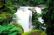 Nooksack Falls, Mount Baker-Snoqualmie National Forest, Washington USA