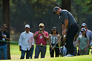 Ryan Fox (NZL) chips on to 3 during Rd4 of the World Golf Championships, Mexico, Club De Golf Chapultepec, Mexico City, Mexico. 2/23/2020.<br /> Picture: Golffile   Ken Murray<br /> <br /> <br /> All photo usage must carry mandatory copyright credit (© Golffile   Ken Murray)