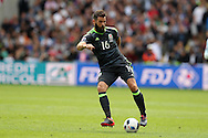 Joe Ledley of Wales in action. Euro 2016, group B , England v Wales at Stade Bollaert -Delelis  in Lens, France on Thursday 16th June 2016, pic by  Andrew Orchard, Andrew Orchard sports photography.