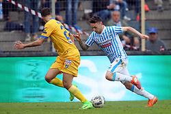 """Foto Filippo Rubin<br /> 26/03/2017 Ferrara (Italia)<br /> Sport Calcio<br /> Spal vs Frosinone - Campionato di calcio Serie B ConTe.it 2016/2017 - Stadio """"Paolo Mazza""""<br /> Nella foto: MANUEL LAZZARI<br /> <br /> Photo Filippo Rubin<br /> March 26, 2017 Ferrara (Italy)<br /> Sport Soccer<br /> Spal vs Frosinone - Italian Football Championship League B ConTe.it 2016/2017 - """"Paolo Mazza"""" Stadium <br /> In the pic: MANUEL LAZZARI"""