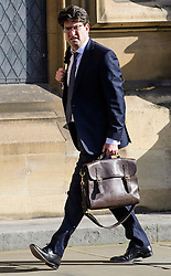 © Licensed to London News Pictures.07/03/2017.London, UK. Conservative peer, LORD FELDMAN arrives at Parliament to vote in the Lord's on the third reading of the Brexit bill. .Photo credit: Ben Cawthra/LNP