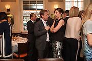 GEORDIE GREIG; RUTH WILSON, Vanity Fair Lunch hosted by Graydon Carter. 34 Grosvenor Sq. London. 14 May 2013
