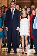 112217 Spanish Royals attended the 'Francisco Cerecedo' journalism awards