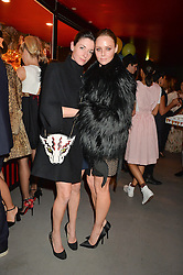 Left to right, MARY McCARTNEY and STELLA McCARTNEY at 'The World's First Fabulous Fund Fair' in aid of the Naked Heart Foundation hosted by Natalia Vodianova and Karlie Kloss at The Roundhouse, Chalk Farm Road, London on 24th February 2015.