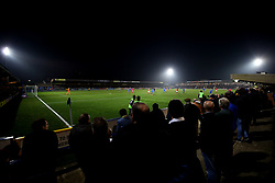 General view during the game