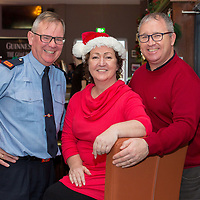 Inspector Tom Kennedy, Mary Fitzgerald and Det Sgt Kevin O'Hagan from Shannon Garda Station