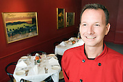 Chef Gary Byler Jr. at Cafe Metro.
