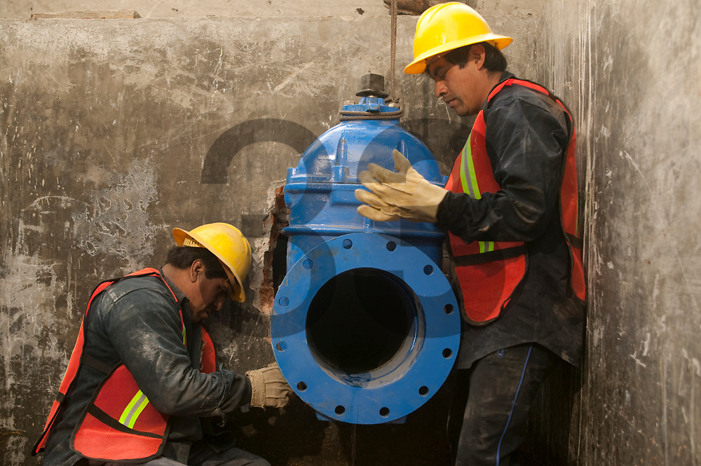 IACSA, water works in Mexico City.